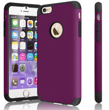 For iPhone 7 6s Plus 5C SE Hard Hybrid Silicone Shockproof Back Case Cover Armor
