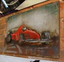 3D Metal Wall Hanging Art - F1 Race Car - 60cm x 40cm