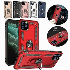 Shockproof Armour 360 Ring Stand Case For iPhone 11 Pro X XR XS Max 8 7 6 Plus