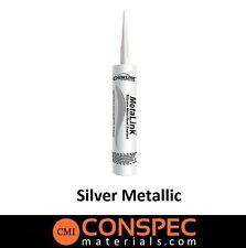 Chemlink Metalink SILVER METALLIC Metal Roof & Siding Silicone Sealant 10oz Tube
