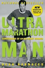 ULTRA MARATHON MAN by Dean Karnazes FREE SHIPPING paperback book fitness running