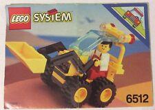LEGO 6512 Notice de Montage Instruction Booklet 1992 Landscape Loader