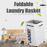 Rectangle Foldable Laundry Basket Clothes Storage Bin Toys Bags Washing Hamper