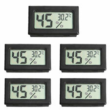US 5PCS Digital LCD Indoor Temperature Humidity Meter Thermometer Hygrometer