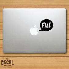 FML Speech balloon Macbook Sticker / Macbook Decal / Cover / Skin