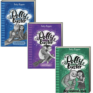 Polly And Buster 1-3 Mystery of the Magic Stones.... Sally Rippin (Paperback)