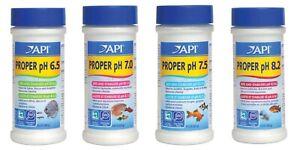 API Proper pH Powdered Fish Aquarium Water Buffer 6.5, 7.0, 7.5 or 8.2  Free Shi