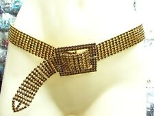 Ballroom Dance Dressy Swarovski Element Austrian Rhinestone Crystal Woman Belt