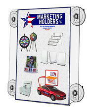 "Suction Cup Sign Holder Display for 12"" x 18"" Double Sided Display Sign"