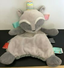 """Taggies Raccoon Beanie Comforter  Mary Meyer Baby Signature Collection 12"""""""