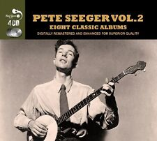 Pete Seeger EIGHT (8) CLASSIC ALBUMS VOL 2 Birds, Beasts, Bugs 1 NEW SEALED 4 CD