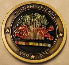 Vietnam War / Conflict Veteran 1959-1975 Military Challenge Coin   E