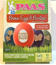 Easter Egg Decorating Kit Burlap Arts & Craft (2 Pack) *Next Day Shipping*