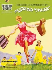 The Sound of Music Broadway Singer's Edition Vocal Piano Book and CD N 000103671
