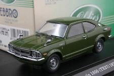 Ebbro 43249 1:43 Scale Toyota Corolla Levin TE27 (1972) Die Cast Model Car Green