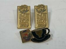COLLECTABLE Sydney Olympics 2000 - 3 Pins Torch Relay Badges