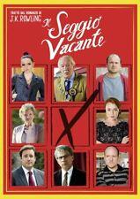 IL SEGGIO VACANTE DAL ROMANZO DI J.K. ROWLING (DVD) NUOVO, ITALIANO, ORIGINALE