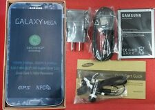 New UNLOCKED Samsung Galaxy Mega 6.3 SGH-I527 AT&T 16GB, Black in Box, Warranty