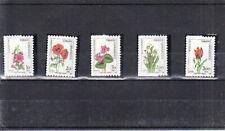 TURKEY 1984 FLOWERS SET  MNH VF