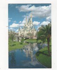 Fairy Tale Castle Disney World 1990 Postcard 443a