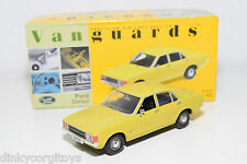 . VANGUARDS VA05502 FORD CONSUL DAYTONA YELLOW MINT BOXED