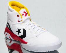 Converse G4 High Men's White Speed Yellow Black Red Basketball Sneakers Shoes