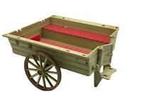 Calico Critters Sylvanian Families Vintage Farmers Cart Red Pony And Trap