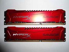 ✔✔ KINGSTON HyperX SAVAGE 16GB (2x8GB) 2400MHz DDR3 PC3-19200 (HX324C11SRK2/16)
