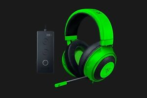 Razer Kraken Tournament Edition, Wired Esports Gaming Headset with Full Green