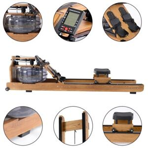Foldable Water Rowing Machine 2021 UPGRADED Durable Machine With LCD Display