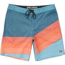 "Billabong Men Lo Tides Slice 19"" Boardshorts Swimwear Sz 32"
