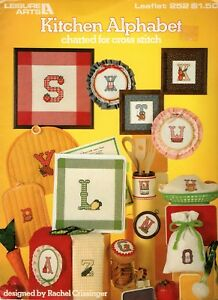 Cross Stitch - Kitchen Alphabet - charted