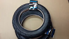 TWO Sunlite 12 1/2 X 2 1/4 Inch Bicycle Tires-Black INCLUDES TUBES/2 Rim Bands