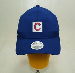 New Era Chicago Cubs Baseball 9Twenty Cap Royal Blue Womens OSFA Adjustable Hat