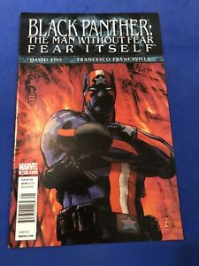 Black Panther The Man Without Fear 521 HTF Newsstand Price Variant Marvel 2011
