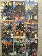 Black Panther série complète de 62 comics en Vo par Christopher Priest