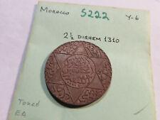 S222 Morocco 1310 2 1/2 Dirhams