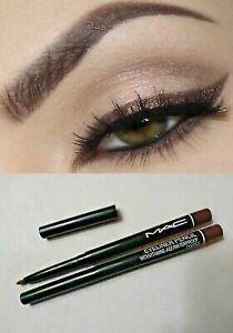 MAC Retractable Waterproof Eyeliner Brown Pencil w/ Vitamin A&E Buy 1 Get 1 Free
