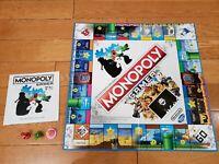 Monopoly Gamer Nintendo Mario Bros Battle Edition Board Lot Hasbro