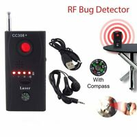 CC308+ Camera Detector Anti-Spy Full Range Bug Mini Signal GSM GPS Signal Finder