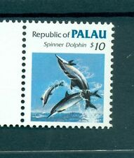 FAUNE MARINE - MARINE LIFE PALAU 1986 Dolphin Common Stamps
