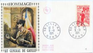 FRANCE 1697 1er JOUR, DE GAULLE à la LIBERATION. TRES BEAU.