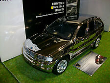 BMW X5 4.4i chrome au 1/18 KYOSHO 08521CR voiture miniature de collection