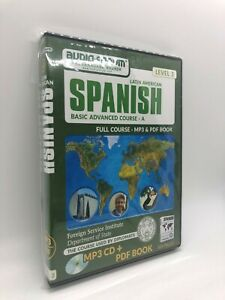 FSI: Basic Spanish Advanced A (PC/MAC) by Audio-Forum