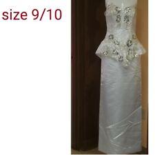 Vintage 1980's Size 10 Prom Dress Or Wedding Dress