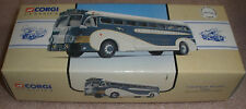 Corgi Classics Greyhound Lines Yellow coach 743 #98462 Mint in box Chicago