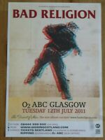 Bad Religion - Glasgow july 2011 live music show memorabilia concert gig poster