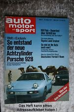 AMS Auto Motor Sport 6/77 Porsche 928 Toyota Land Cruiser Puma GT/E