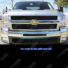 Fits 2007-2013 Chevy Silverado 1500/07-10 2500 Air Dam Black Billet Grille Grill