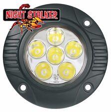 Round 18 Watt Quad Night Stalker LED Flush Mount Aux/Reverse Lights - Pair